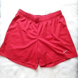 Nike fit dry shorts loose fit sz large